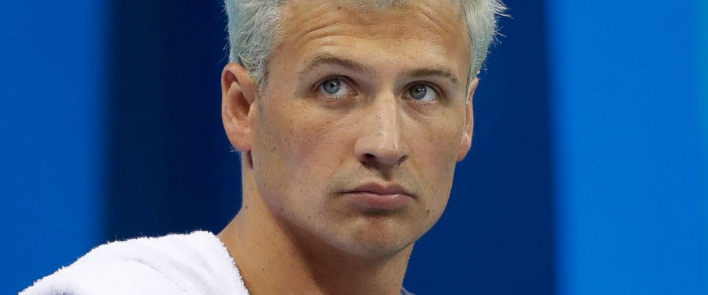 PHOTO: Swimmer Ryan Lochte prepares before competing at the 2016 Summer Olympics, in Rio de Janeiro, Aug. 9, 2016.