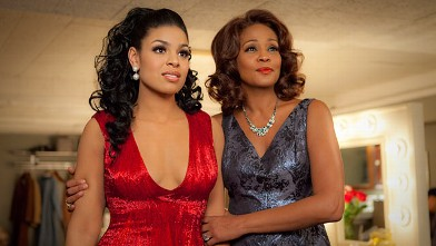 """PHOTO: Singer-actresses Jordin Sparks, left, and Whitney Houston are shown in a scene from the upcoming film """"Sparkle."""""""