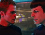 "PHOTO: Chris Pine, left, and Zachary Quinto are shown in a scene from, ""Star Trek."""