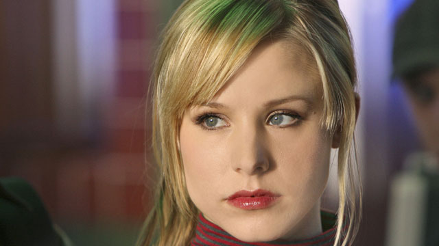 "PHOTO: This 2007 publicity photo supplied by the CW shows Kristen Bell, who plays the title role in ""Veronica Mars"" on The CW Network."
