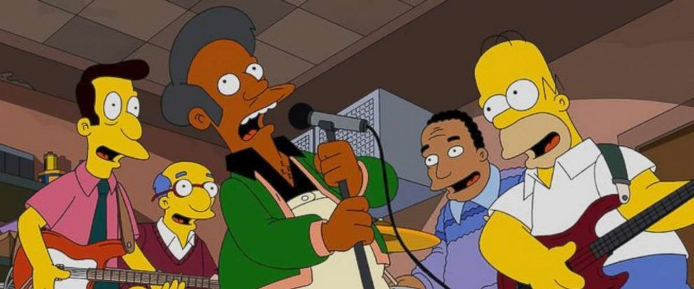 PHOTO: Dr. Apu Nahasapeemapetilon is a character on The Simpsons on Fox.