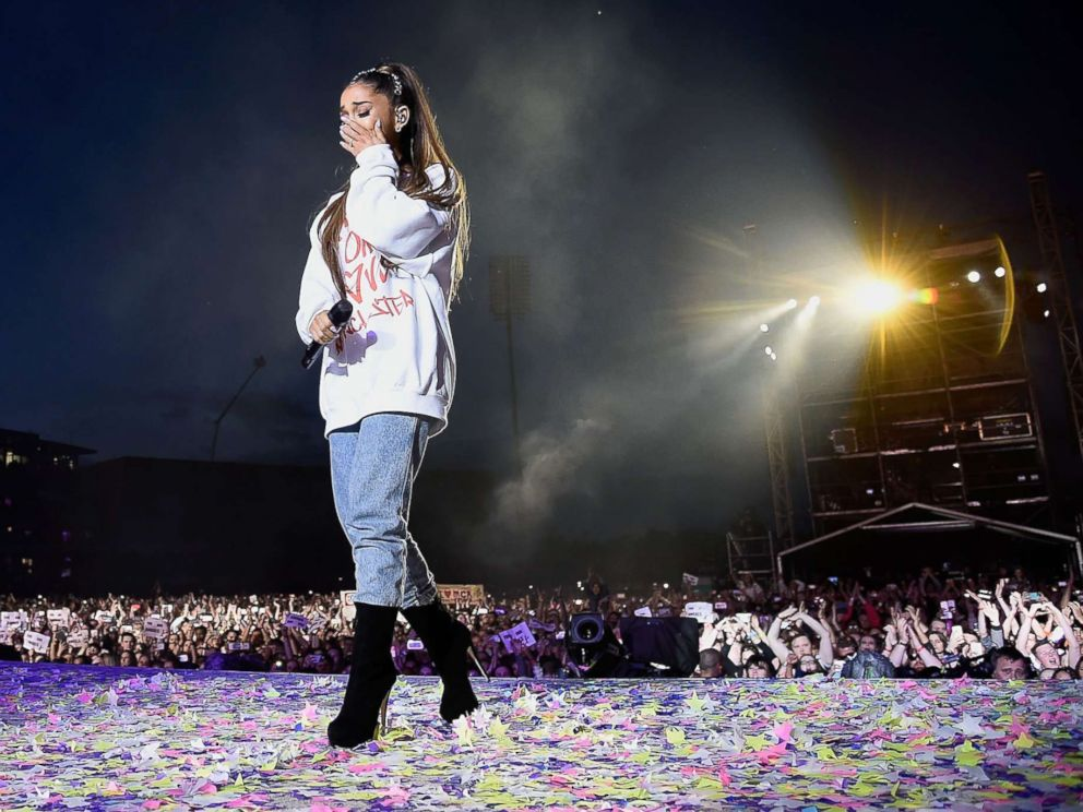 Ariana Grande pays tribute to Manchester on anniversary of concert bombing