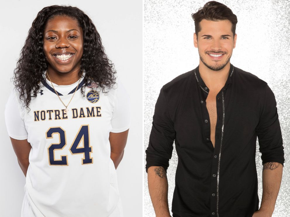 PHOTO: NCAA champ Arike Ogunbowale, the womens college basketball star at the University of Notre Dame, will dance with pro Gleb Savchenko.