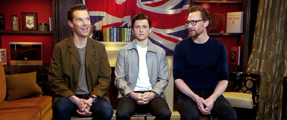 "PHOTO: ""The Avengers"" stars on ""Good Morning America,"" April 9, 2018."