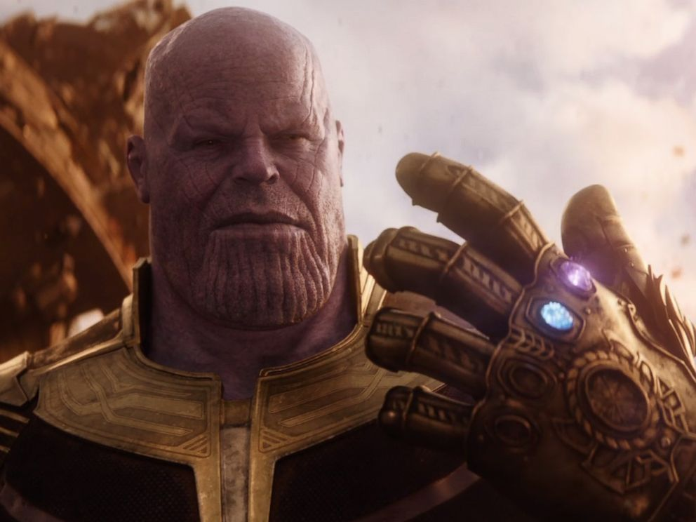 PHOTO: Thanos is seen in a still image from the trailer for Marvels, Avengers: Infinity War.