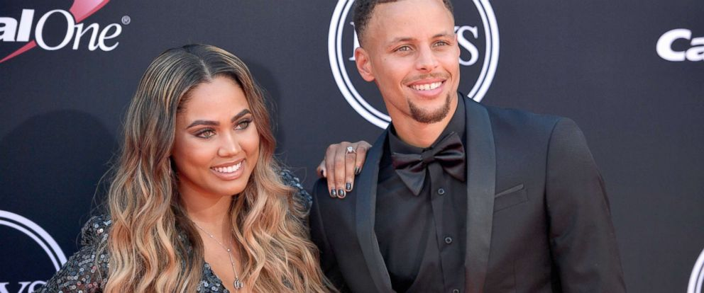 9a97c77786b9 PHOTO  NBA player Steph Curry and Ayesha Curry attend The 2017 ESPYS at  Microsoft Theater