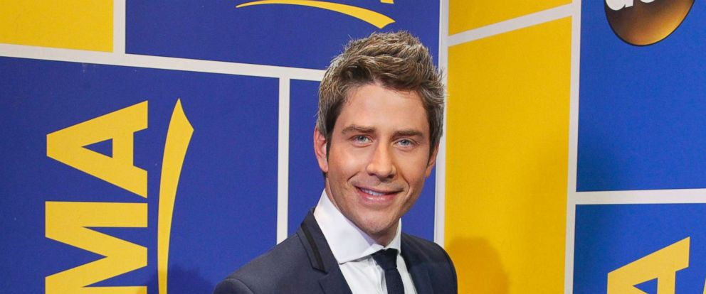 "PHOTO: Arie Luyendyk Jr., the race car driver who appeared on season eight of ""The Bachelorette"" in 2012, was revealed as the new Bachelor on ""Good Morning America"" on Sept. 7, 2017."