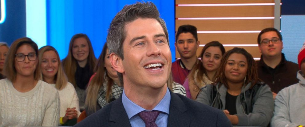 "PHOTO: Bachelor Arie Luyendyk Jr. discusses the season premiere of ""The Bachelor"" live on ""Good Morning America."""