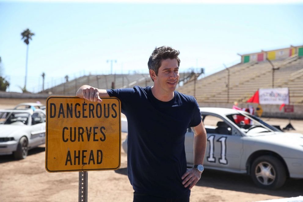 PHOTO: The Bachelor aired on Jan. 8, 2018, with Arie Luyendyk Jr. taking the 15 contestants to a racetrack.