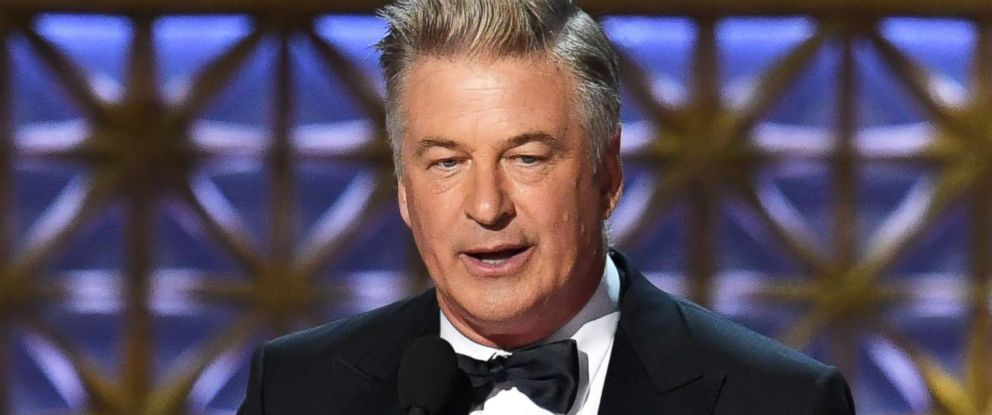 PHOTO: Alec Baldwin accepts Outstanding Supporting Actor in a Comedy Series for Saturday Night Live onstage during the 69th Annual Primetime Emmy Awards at Microsoft Theater on Sept. 17, 2017 in Los Angeles.