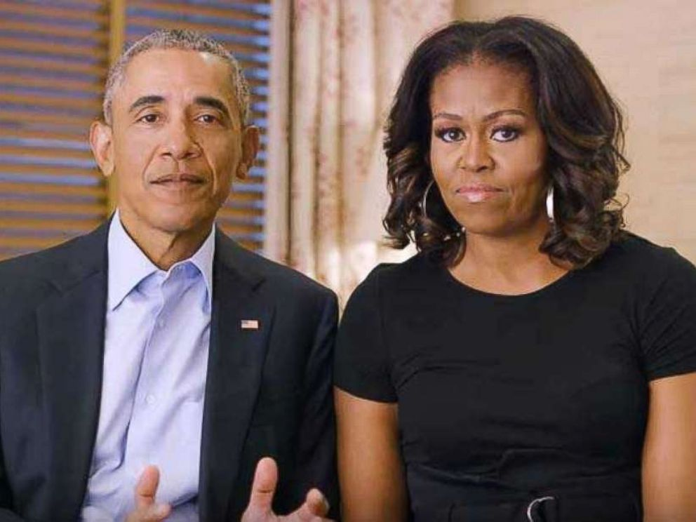 PHOTO: Barack and Michelle Obama are featured in a new five-minute video, produced by legendary musician Stevie Wonder, to mark the 50th anniversary of the assassination of civil rights leader Martin Luther King, Jr.