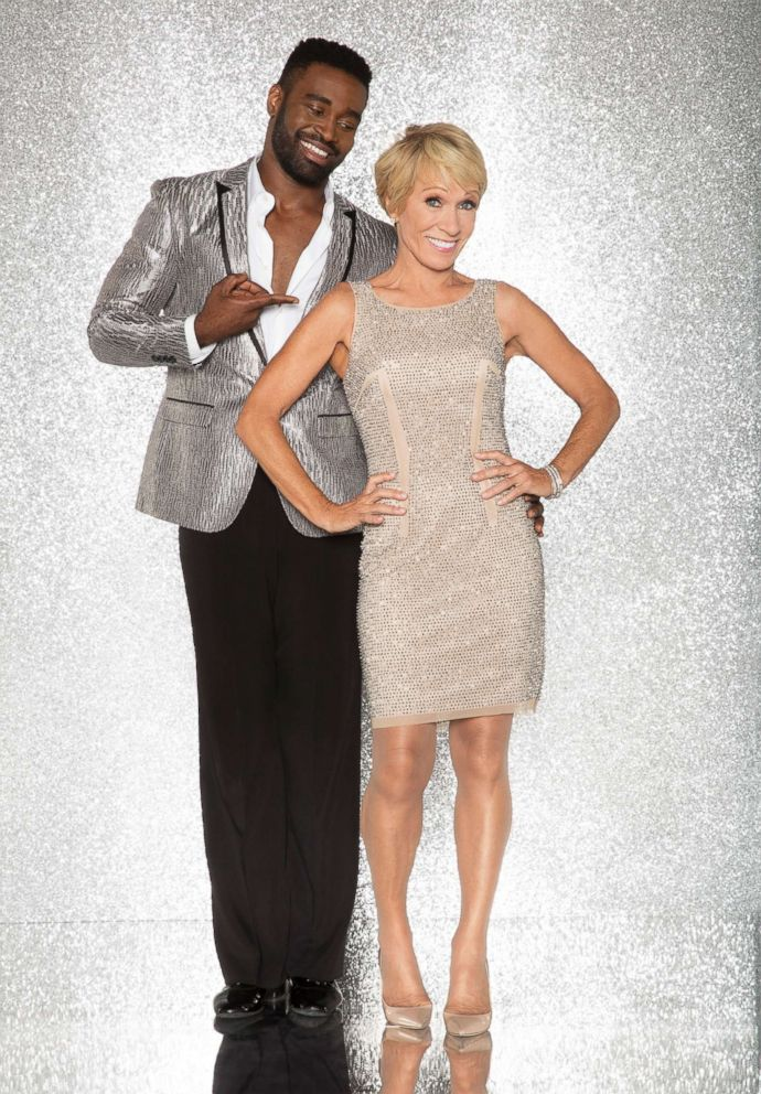 PHOTO: Barbara Corcoran and pro dancer Keo Motsepe will compete for the mirror ball title on the new season Dancing With The Stars.