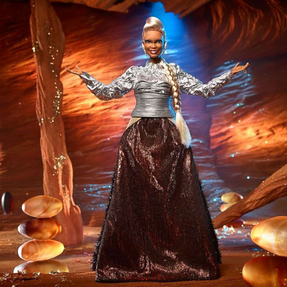 PHOTO: Mattel made A Wrinkle in Time Barbie for the character played by Oprah Winfrey.