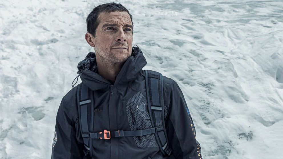 Bear Grylls who is featured in the show Man vs Wild.
