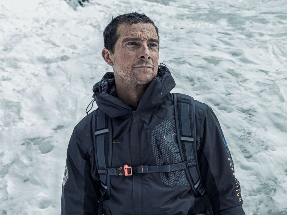 PHOTO: Bear Grylls who is featured in the show Man vs Wild.