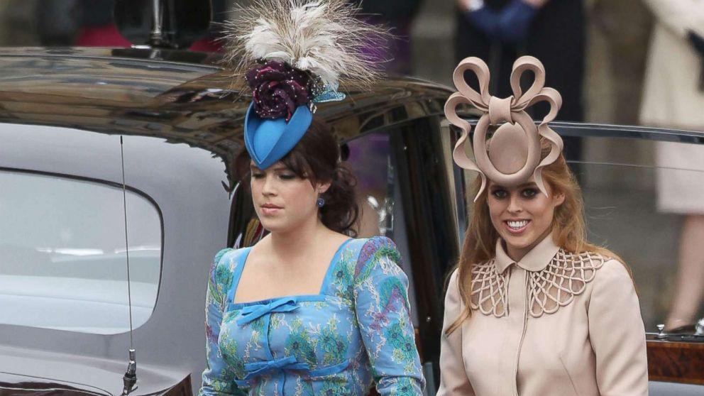 Fashionistas Wait To See What Fab Fascinators Princesses Beatrice