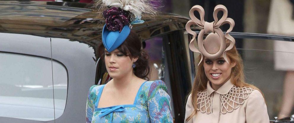 d11dc75e72edd Fashionistas wait to see what fab fascinators Princesses Beatrice ...