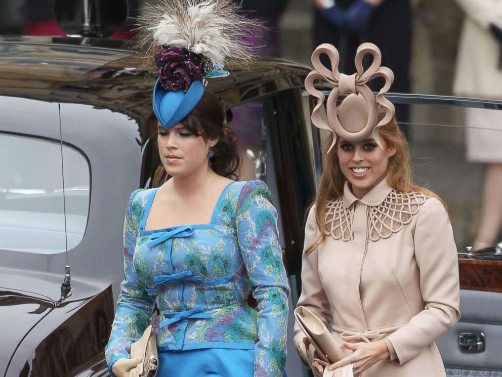 Fashionistas wait to see what fab fascinators Princesses Beatrice ...