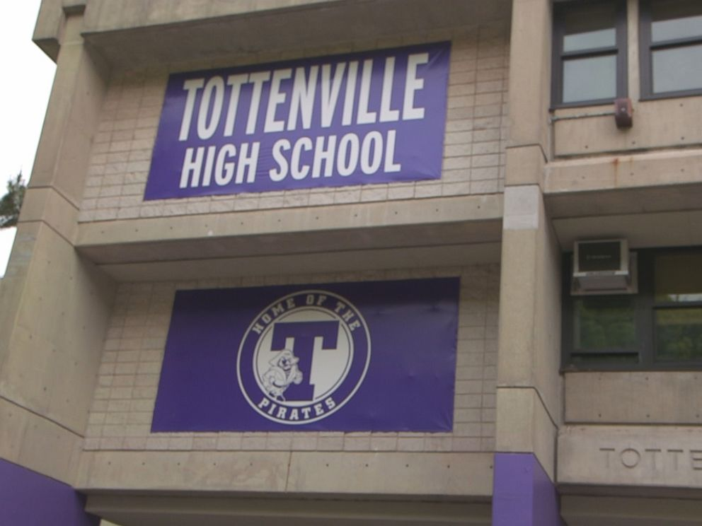 PHOTO: Bebe Rexha took Nightline on a tour of her high school.