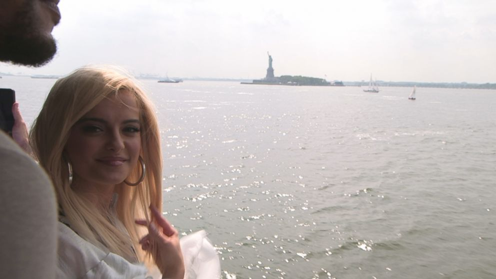 """Bebe Rexha told """"Nightline"""" that Manhattan was the city of dreams for her."""