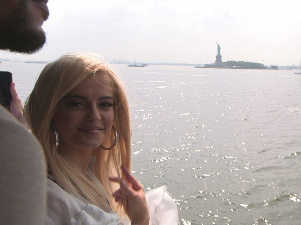 PHOTO: Bebe Rexha told Nightline that Manhattan was the city of dreams for her.