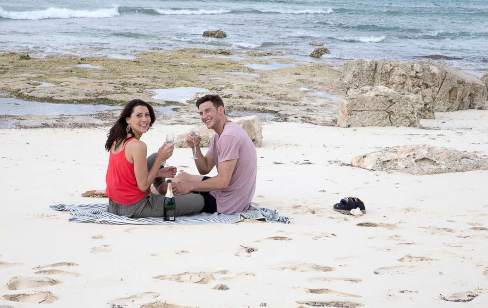 PHOTO: Becca and Blake travel to the tropical paradise of The Bahamas, on The Bachelorette, July 9, 2018, on The ABC Television Network.