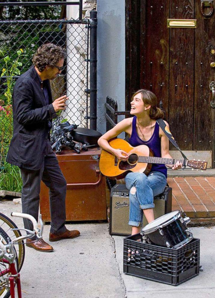 PHOTO: Mark Ruffalo and Keira Knightley in a scene from Begin Again.