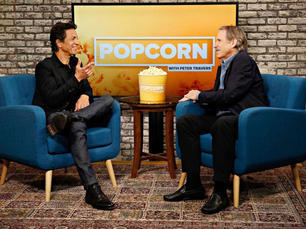 PHOTO: Bnejamin Bratt appears on Popcorn with Peter Travers in New York, Nov. 13, 2017.