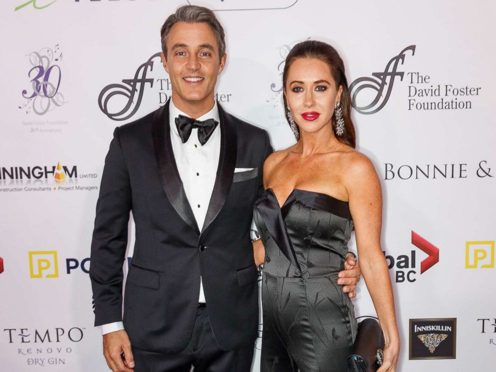 PHOTO: Ben Mulroney and Jessica Mulroney arrive for the David Foster Foundation Gala at Rogers Arena, Oct. 21, 2017, in Vancouver, Canada.
