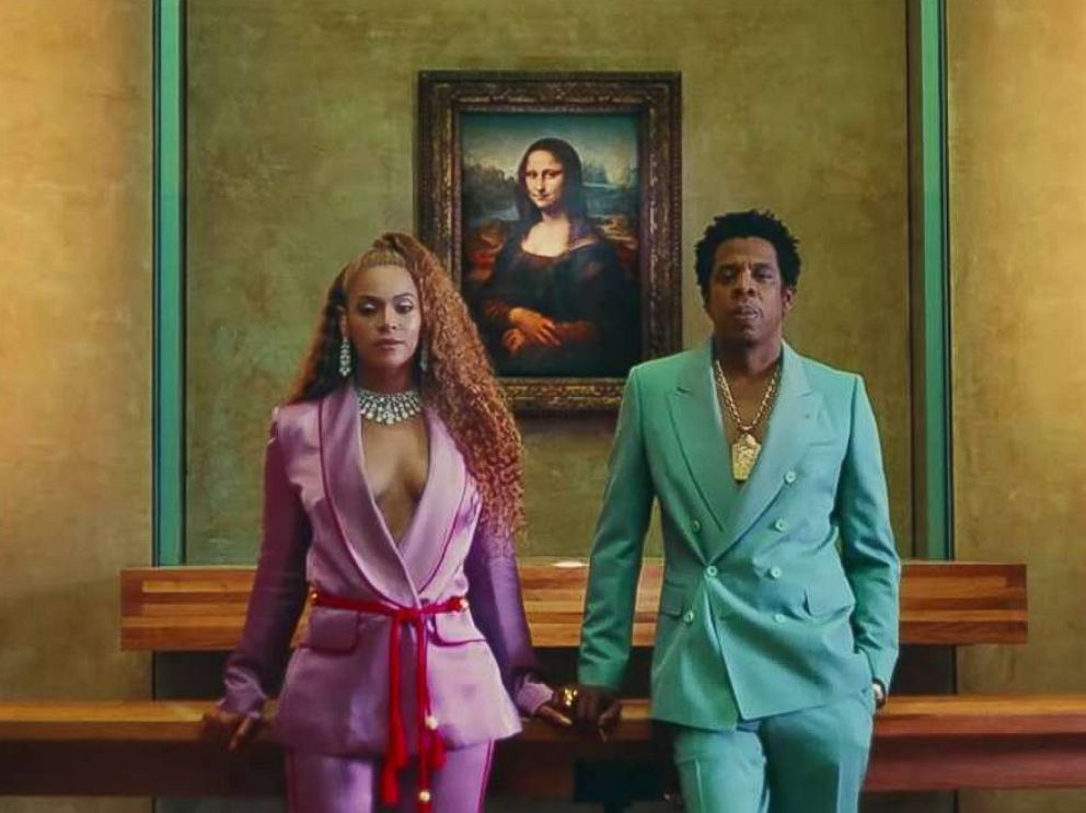 PHOTO: Beyonce and Jay-Z in first video off the album, Ape S**t.
