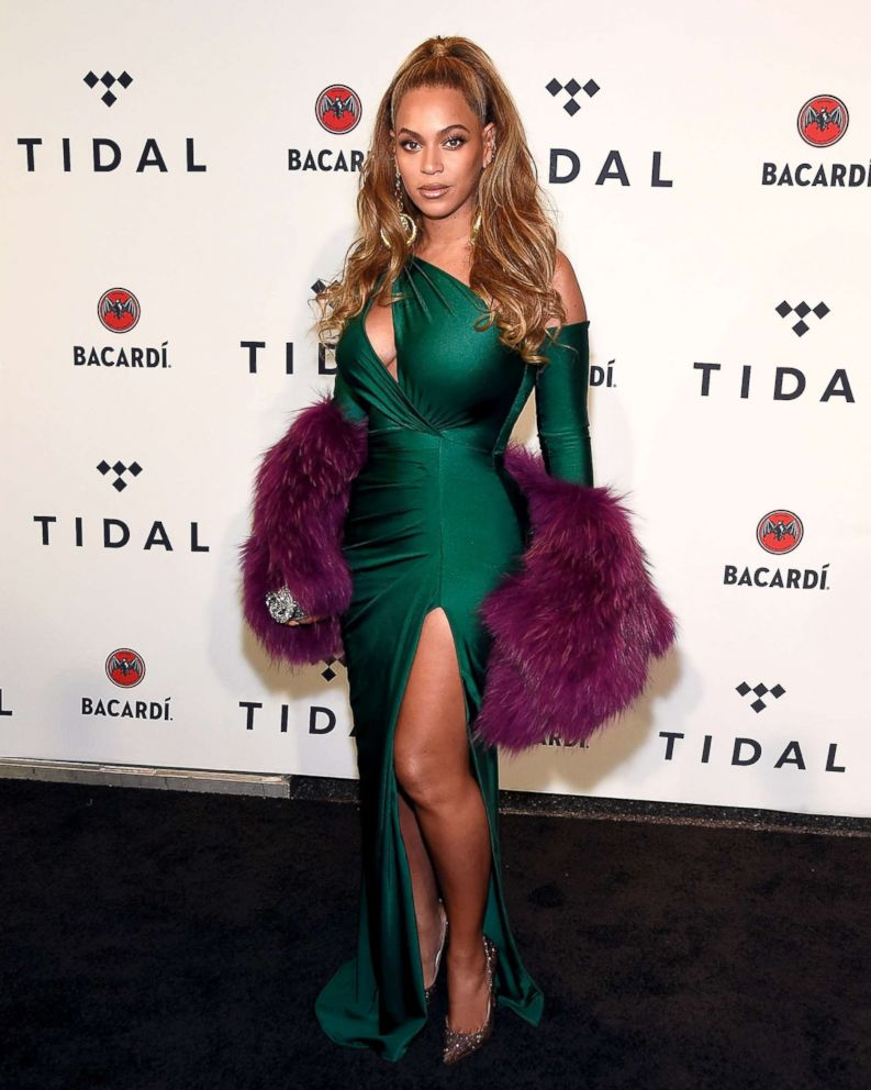 PHOTO: Beyonce attends TIDAL X: Brooklyn at the Barclays Center, Oct. 17, 2017, in New York City.