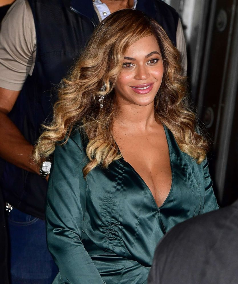 PHOTO: Beyonce leaves Cipriani Wall Street, Sept. 14, 2017 in New York City.