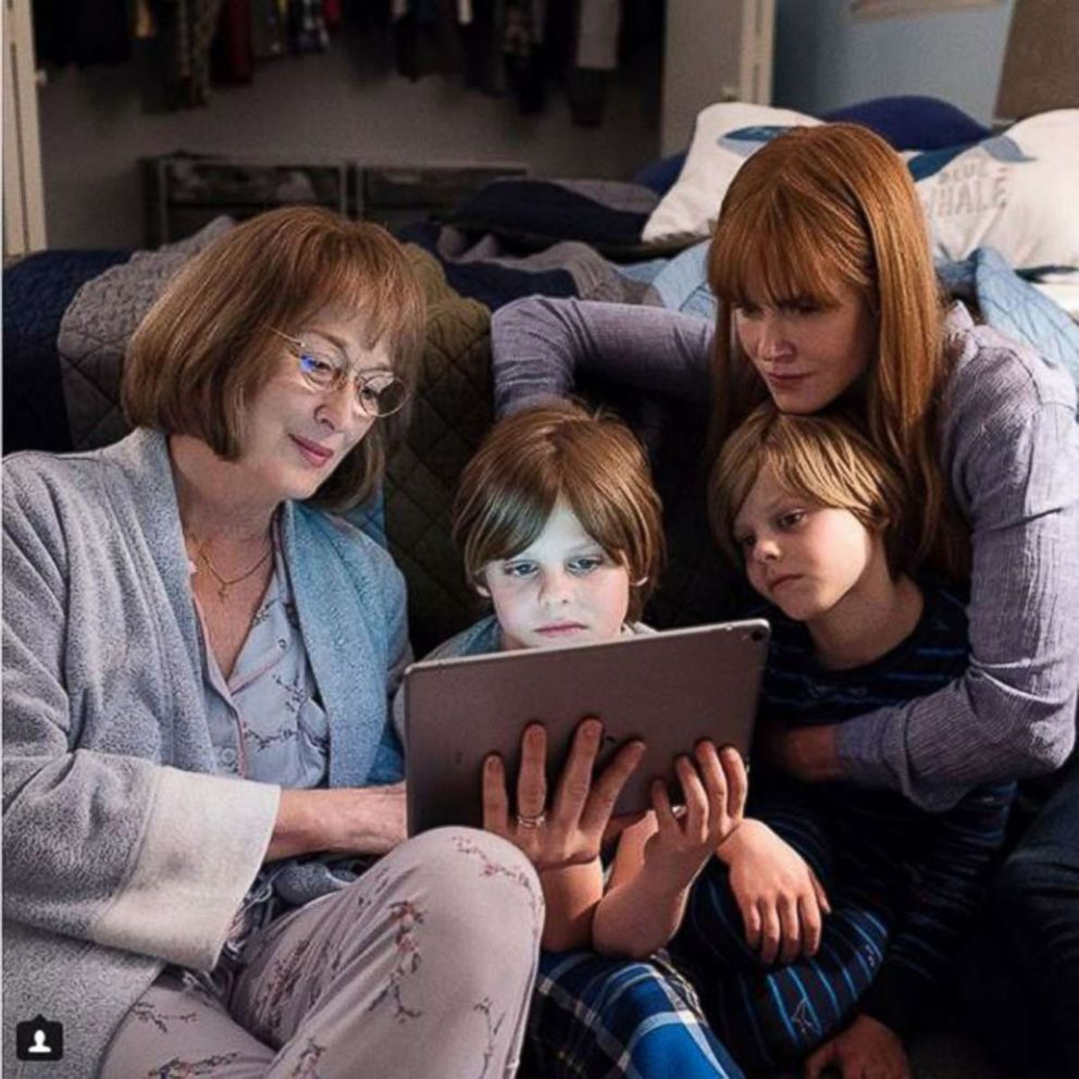 PHOTO: Meryl Streep and Nicole Kidman as Mary Louise Wright and Celeste Wright in a scene from Big Little Lies 2.