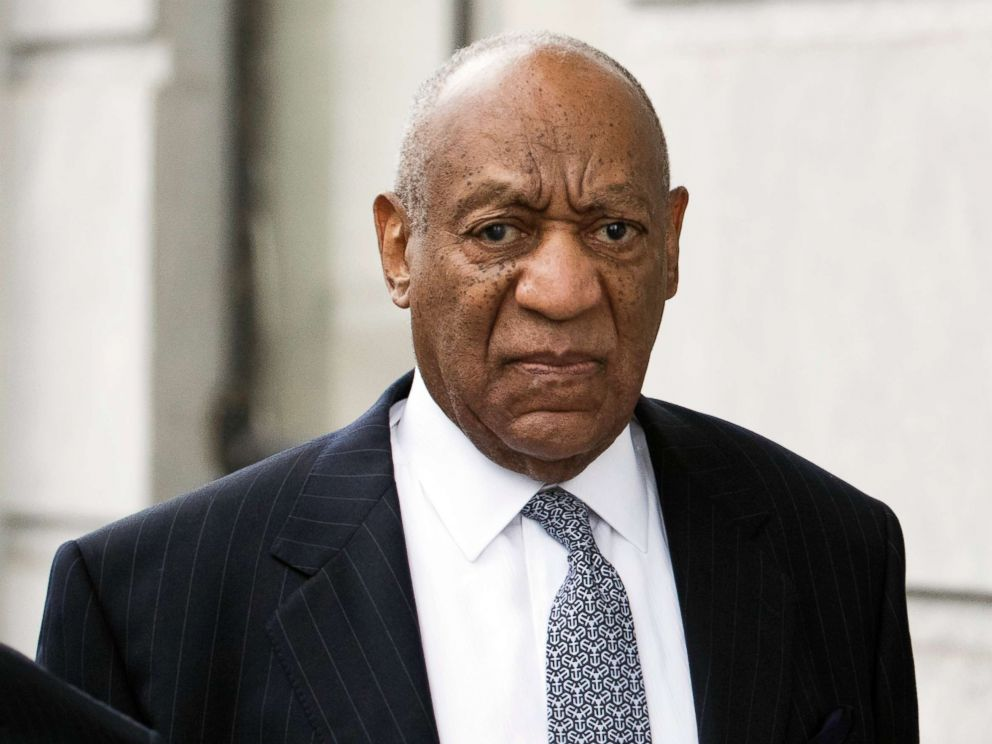 PHOTO: Bill Cosby arrives for his sexual assault case at the Montgomery County Courthouse, April 4, 2018, in Norristown, PA.