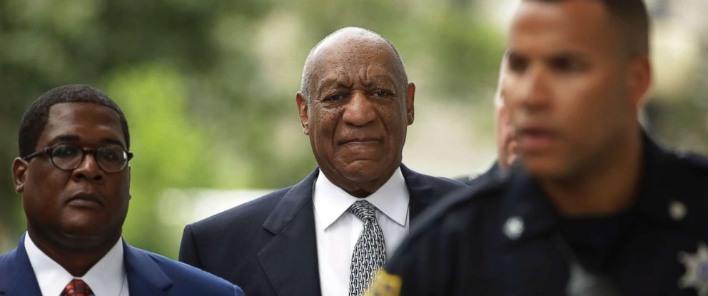 PHOTO: Bill Cosby arrives at a pretrial hearing in his sexual assault case at the Montgomery County Courthouse in Norristown, Pa., Aug. 22, 2017.