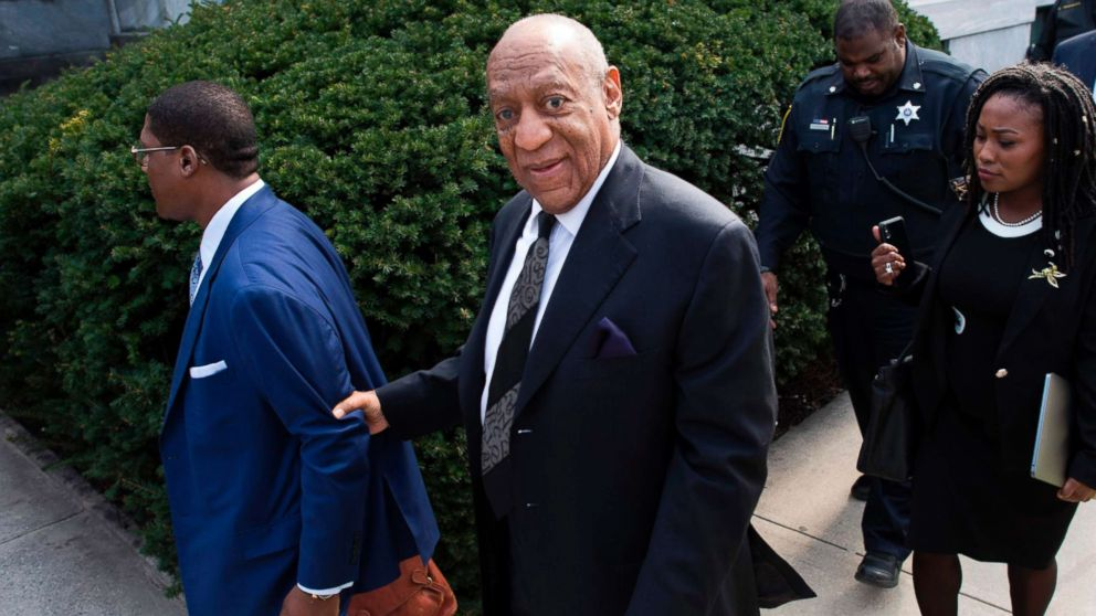 Bill Cosby departs the Montgomery County Courthouse on March 6, 2018, in Norristown, Pa.