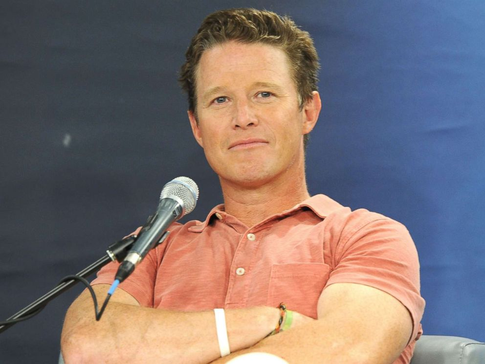 PHOTO: Billy Bush in conversation with Jeff Rossen for SiriusXMs TODAY Show Radio at SiriusXM Studios, Aug. 22, 2016, in New York.