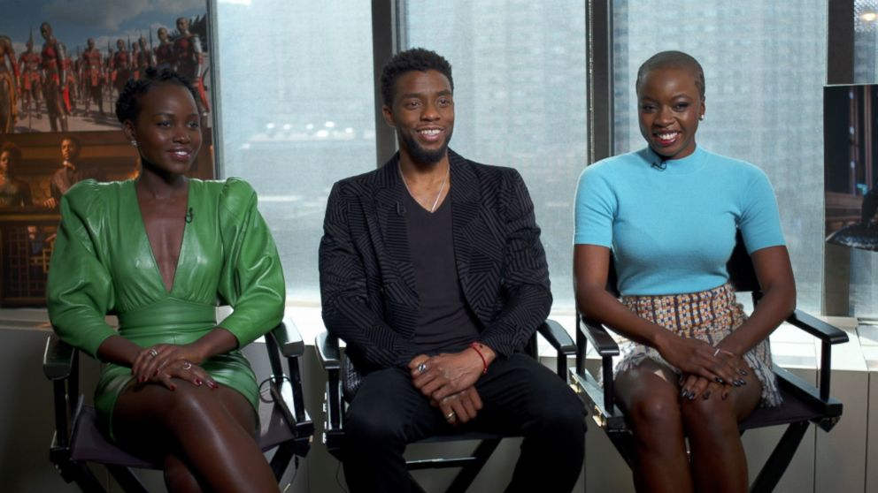 Black Panther' stars, director, studio head on the power of telling