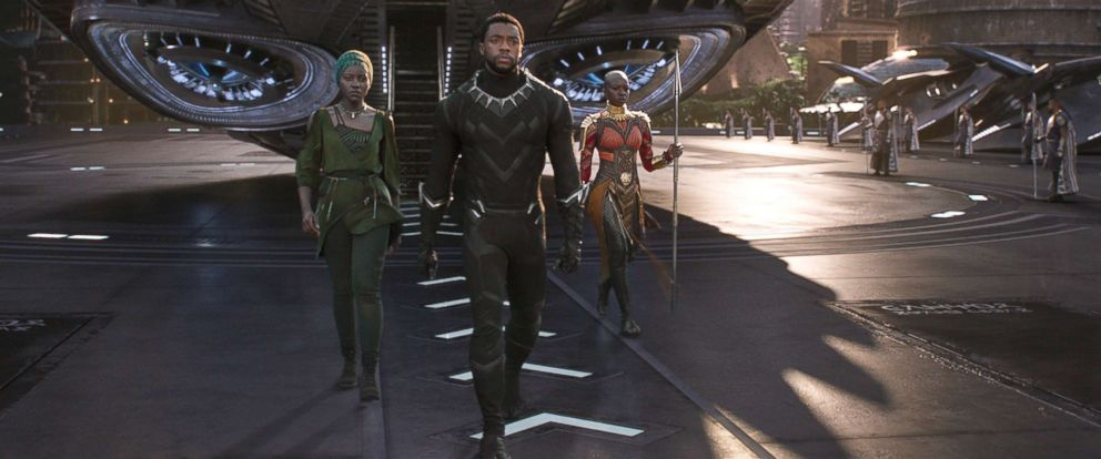PHOTO: A scene from the movie Black Panther.
