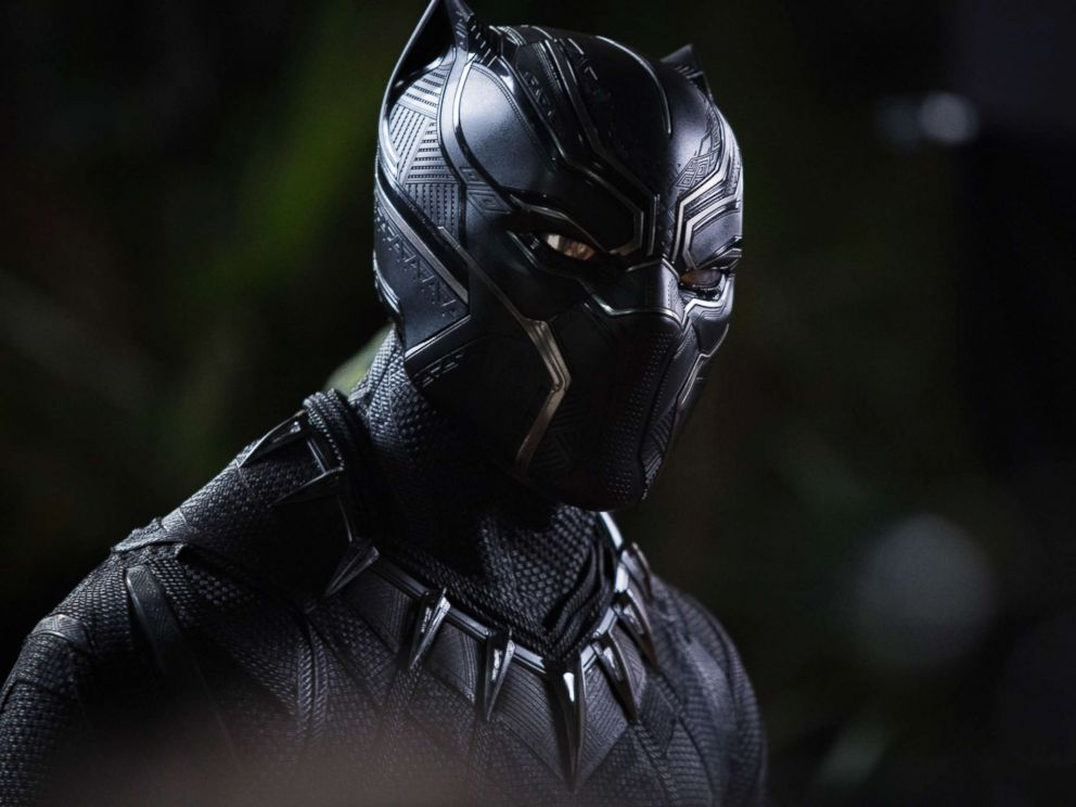 PHOTO: Chadwick Boseman plays the title character in the Marvel film, Black Panther.