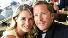 PHOTO: Morgan Beck and Bode Miller attend The 142nd Kentucky Derby at Churchill Downs on May 7, 2016 in Louisville, Ky.