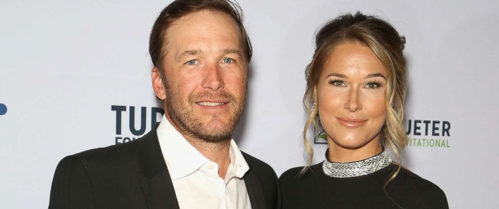 PHOTO: Olympic skier and World Cup alpine ski racer Bode Miller and his wife, professional beach volleyball player/model Morgan Beck, attend the 2018 Derek Jeter Celebrity Invitational gala at the Aria Resort & Casino, April 19, 2018, in Las Vegas.
