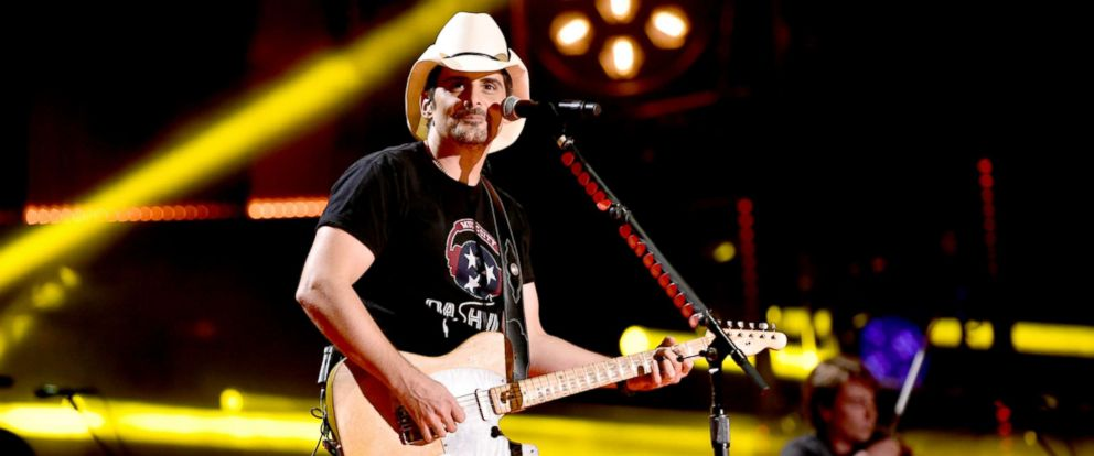 PHOTO: Brad Paisley performs onstage for day 4 of the 2017 CMA Music Festival on June 11, 2017 in Nashville, Tenn.