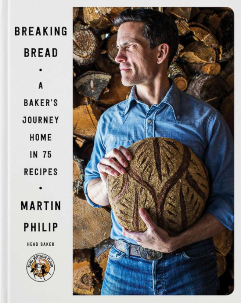 PHOTO: The cover for Breaking Bread: A Bakers Journey Home in 75 Recipes by Martin Philip is pictured here.