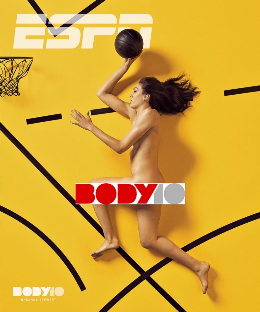 PHOTO: Basketball player Breanna Stewart poses for the 2018 ESPN The Magazine body issue.