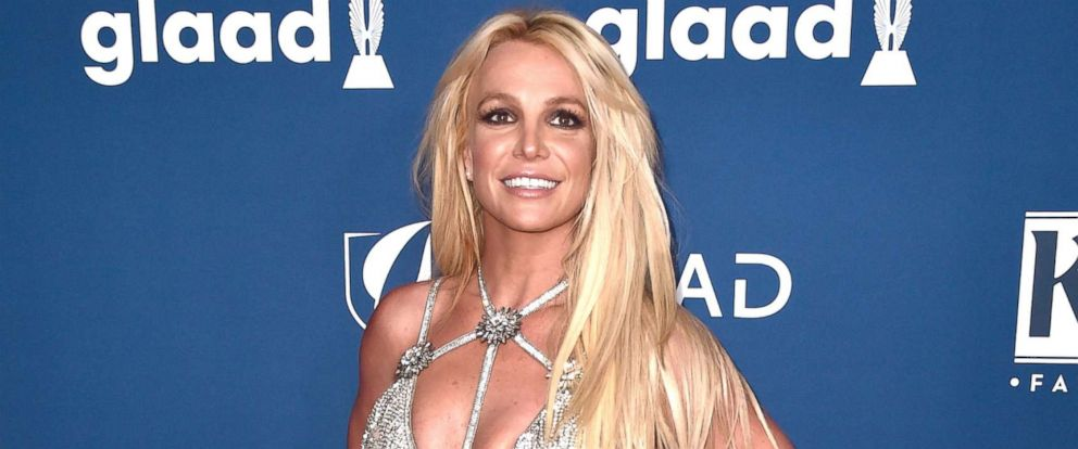 PHOTO: Britney Spears attends the 29th Annual GLAAD Media Awards at The Beverly Hilton Hotel on April 12, 2018 in Beverly Hills.