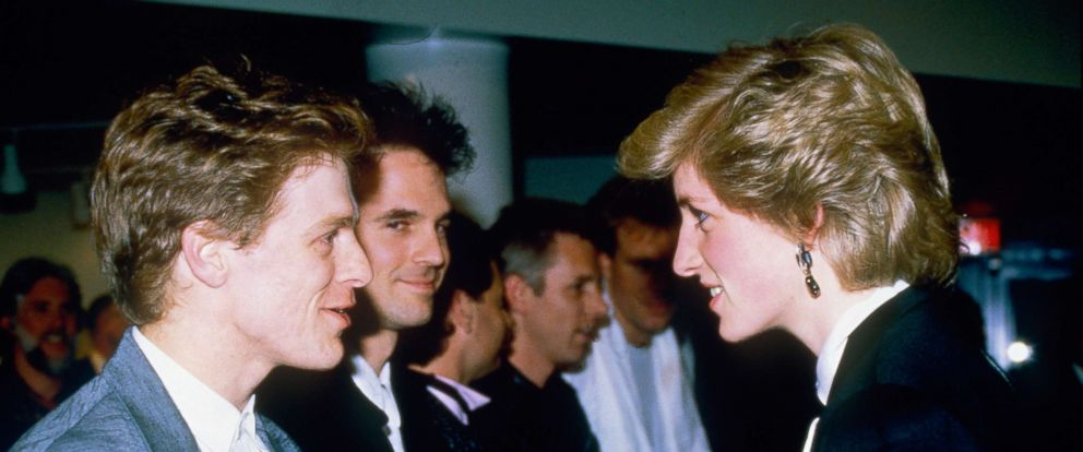 PHOTO: Princess Diana meets Bryan Adams after a concert in Vancouver during her tour of Canada, May 3, 1986.