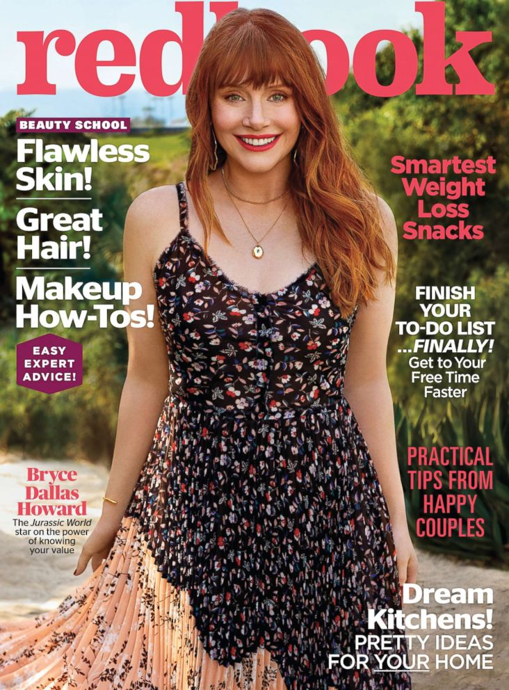 PHOTO: Bryce Dallas Howard on the cover of the May issue of Redbook.
