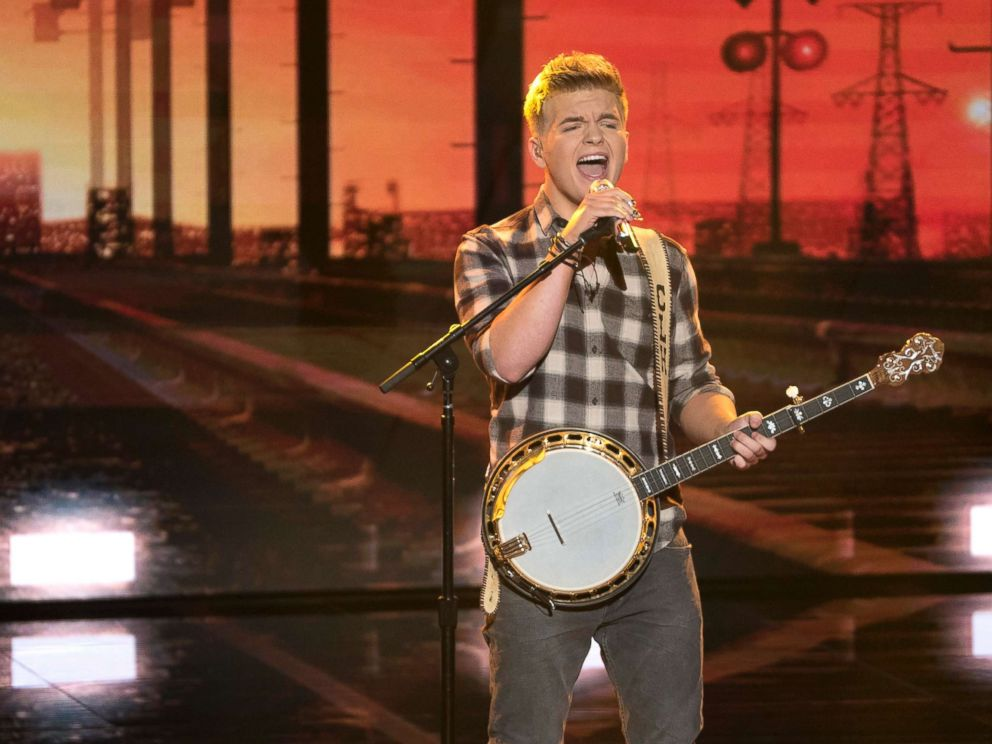 PHOTO: Caleb Lee Hutchinson performs on an episode of American Idol, which aired April 22, 2018.