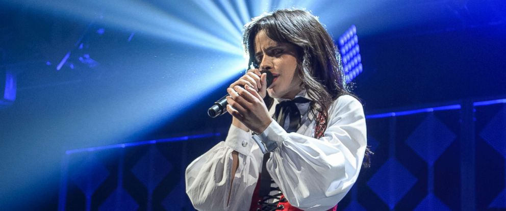 PHOTO: Camila Cabello performs on stage at the IHeartRadio Jingle Ball 2017 at BB&T Center on Dec. 17, 2017 in Sunrise, Fla.